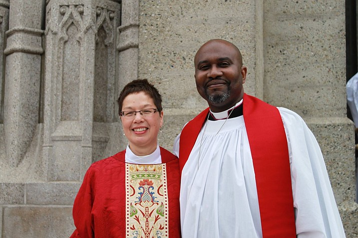 The Right Reverend Kirk Stevan Smith, Bishop of the Episcopal Diocese of Arizona, will preside over the installation of The Rev. Monica Whitaker as Rector of St. Andrew's Episcopal Church in Sedona on Nov.5. (Courtesy Photo)