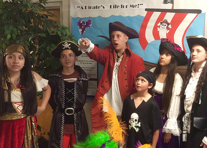 "Sacred Heart Catholic School is putting on ""A Pirate's Life for Me"" this weekend with one show on Friday, Nov. 3, two shows on Saturday, Nov. 4 and one final show on Sunday, Nov. 5. (Edward Morado/courtesy)"