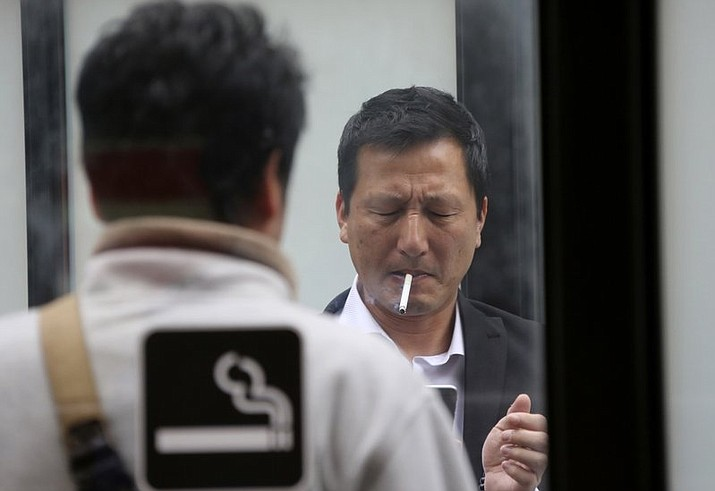 Piala, a marketing company in Tokyo, opted for a novel perk for its employees: an extra week's holiday for those who are nonsmokers. The company's spokesman said Thursday, Nov. 2, 2017 that the company began offering the additional six days of vacation to all of its 120 staff members in September. (AP Photo/Koji Sasahara, File)