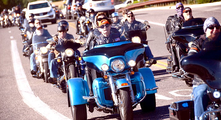 The Verde Valley Toy Run, sponsored by the Moose Lodge, returns Saturday, Nov. 11. (VVN/Vyto Starinskas)
