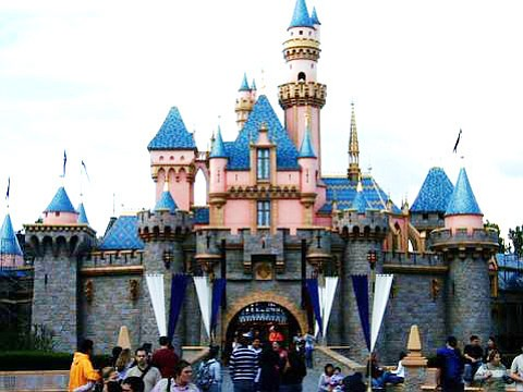 Disney's Sleeping Beauty Castle in 2004.