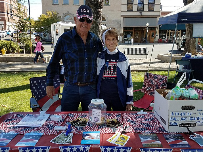 Linda and Reg Howlett of Peace, Love and Joy Apartments for veterans. (Courtesy)