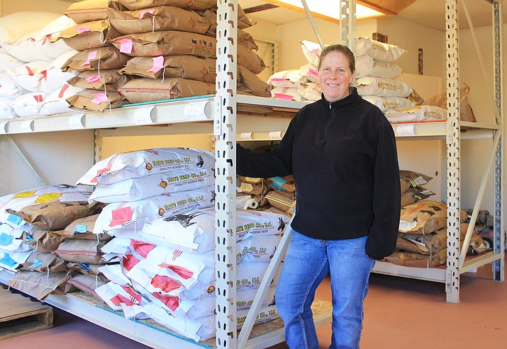 Leah Gonzalez and her family have recently opened MK Feed on N. Grand Canyon Boulevard in Williams.