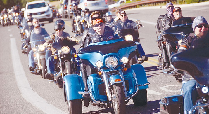 The 33rd annual Verde Valley Toy Run, sponsored by the Moose Lodge, is set for Saturday, Nov. 11 from 9 a.m. to 4 p.m. (VVN/File Photo)