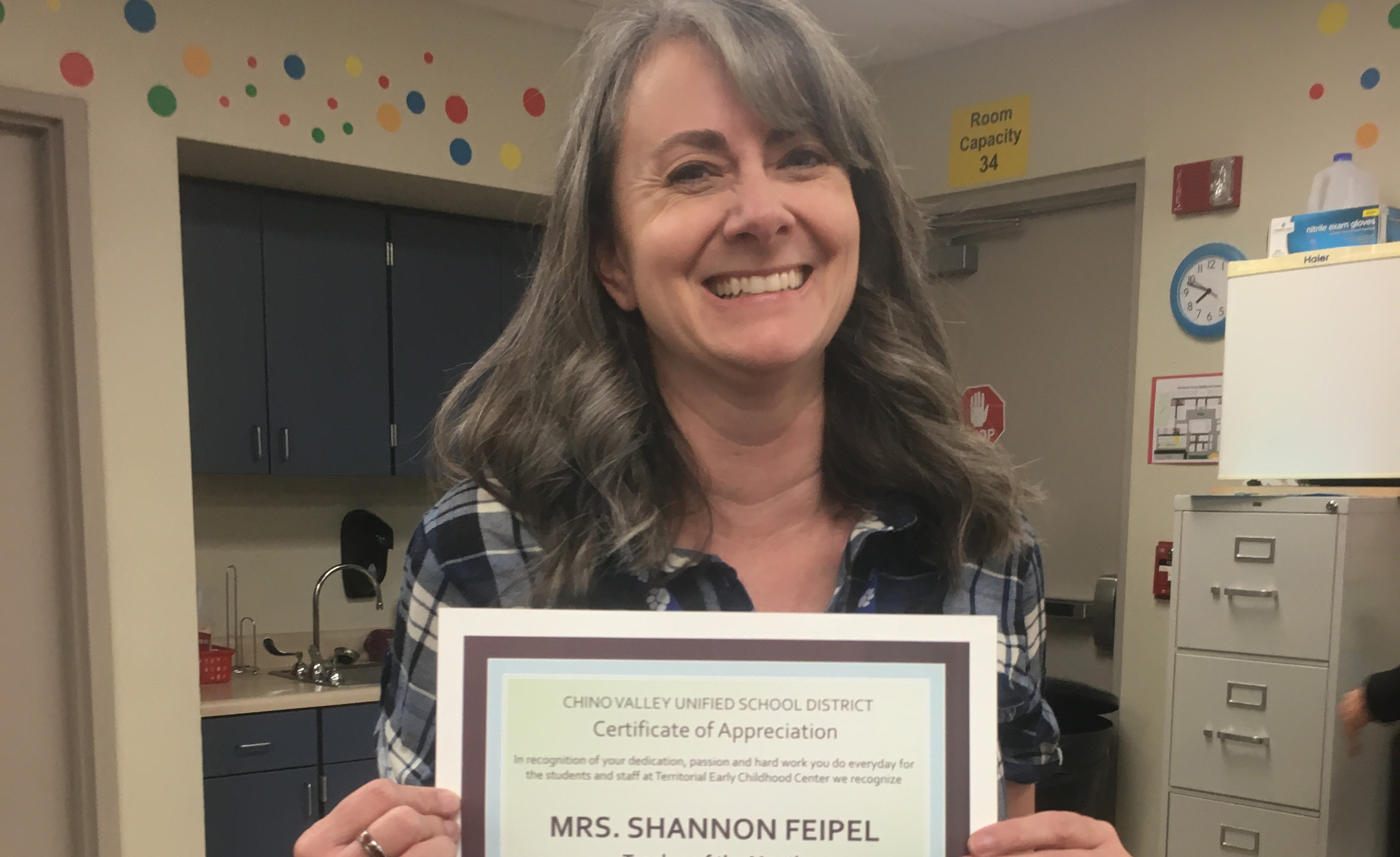 Cvusd Teacher Of The Month Shannon Feipel The Daily Courier