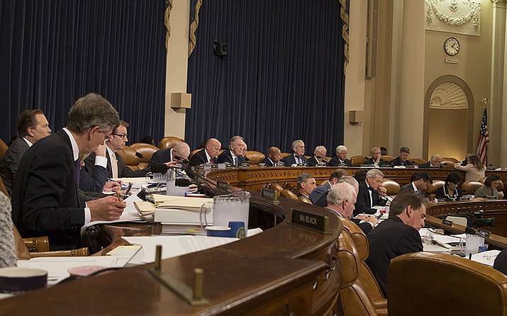 The House Ways and Means Committee on Monday held the first of what is expected to be several days of marathon hearings on a GOP tax reform bill that House leaders hope to have passed before Thanksgiving.