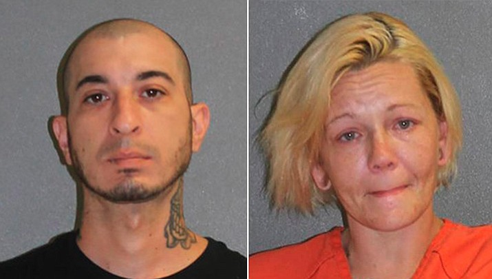 Doug Teixeira and Lindsey Pelton. (Volusia County Sheriff's Office)