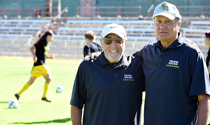 Head Coach Mike Pantalione and Associate Coach Hugh Bell have, arguably, built a dynasty with the Yavapai College soccer program.