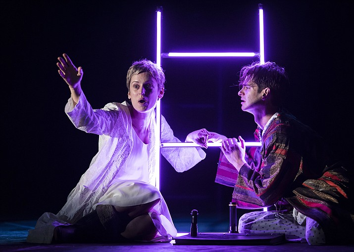 "The National Theatre's production of ""Angels in America"" plays in two parts on Tuesday, Nov. 14, and Thursday, Nov. 16, at Yavapai College Performing Arts Center. See details in KornUkopia. (Helen Maybanks/Courtesy)"