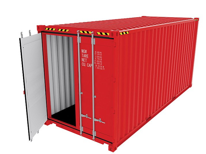 Cargo containers allowed in county for storage use on 10 acres or