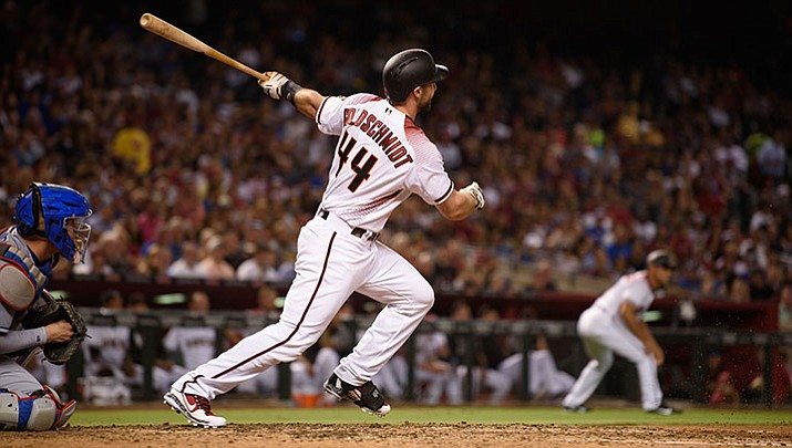Arizona's Paul Goldschmidt won another Silver Slugger Award after leading the National League in RBIs and runs scored. It was his third career award.