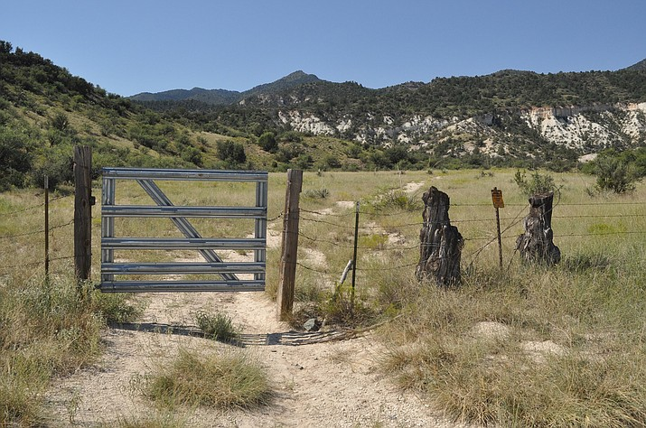 The Camp Verde Economic Development Department is the likely choice for a grant from Arizona State Parks that would provide $203,600 to enhance the Ryal Canyon Trailhead. The department is awaiting the final step of the approval process – executive approval from Arizona State Parks. (Photo by Steve Ayers)