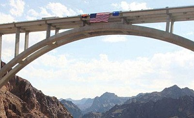 Pavement maintenance is scheduled this week on U.S. 93 south of the Mike O'Callaghan-Pat Tillman Memorial Bridge.