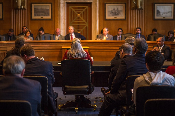 Witnesses told senators on the Indian Affairs Committee that federal tax code, targeted for an overhaul by Republicans, has been hindering economic growth in Indian Country. Photo by Adrienne St. Clair/Cronkite News
