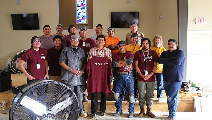 Navajo Nation Christian Response Team digs in deep to help victims of Hurricane Harvey in Texas