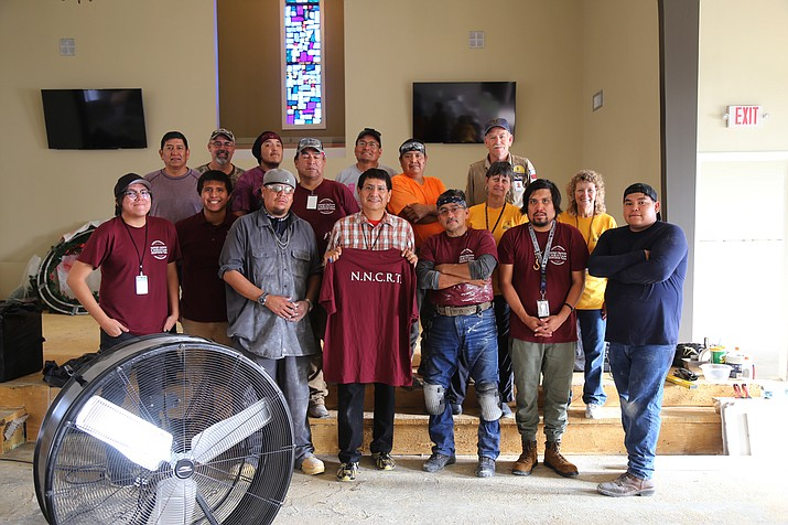 The Navajo Nation Christian Response Team is on its second deployment to assist the victims of Hurricane Harvey. Submitted photo