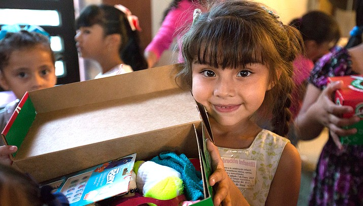 Williams opens doors for Operation Christmas Child shoe box donations
