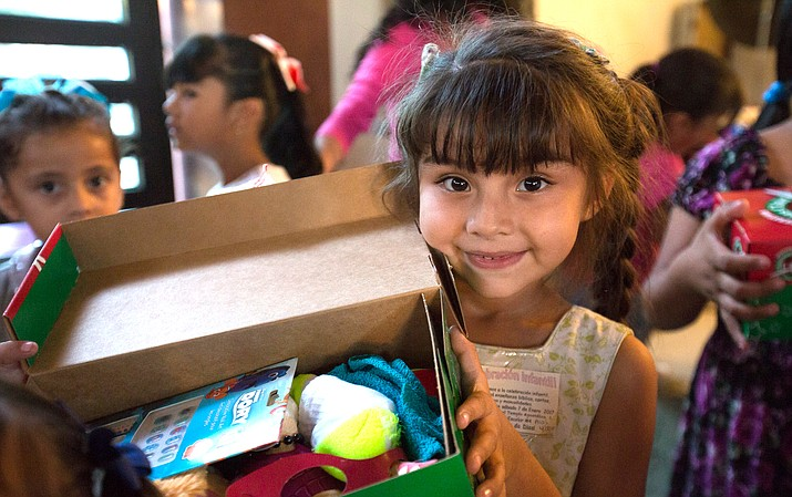 Children around the world benefit from gift boxes packed by the Operation Christmas Child program through Samaritan's Purse.