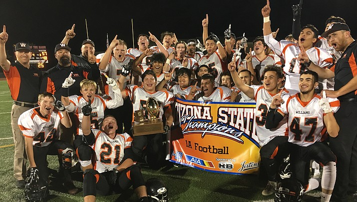Vikings beat Superior 57-14 to claim 1A State Championship title