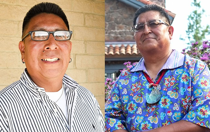 Timothy Nuvangyaoma and Clark Tenakhongva lead in the Nov. 9 election for chairman and vice chairman of the Hopi Tribe.