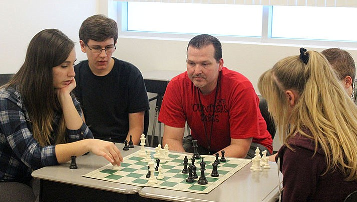 Lee Williams sending four chess players to state