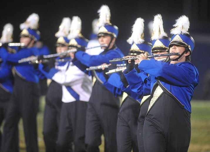 'Pride of Prescott' will perform in the 2017 Arizona Marching Band Championship in Tempe on Nov. 18 (Courier file)