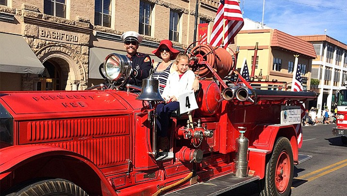Thousands turned out on Saturday, Nov. 11, for the Veterans Day Parade in downtown Prescott. (Nanci Hutson/Courier)