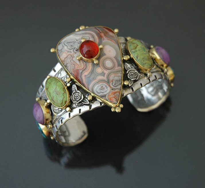 Van Gogh's Ear will be hosting a reception and truck show for Kit Carson's jewelry work during the 4th Friday Art Walk on Nov. 24, from 5 to 8 p.m. (Courtesy)
