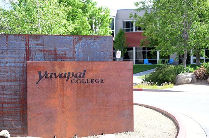 Yavapai College's Prescott campus. (Les Stukenberg/Courier)
