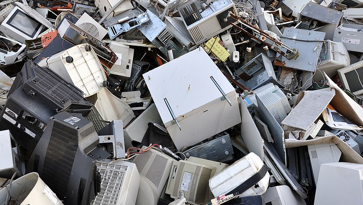 Out with the old: MCC's MC4 Computer Club and City of Kingman Public Works are hosting a technology recycling drive Saturday