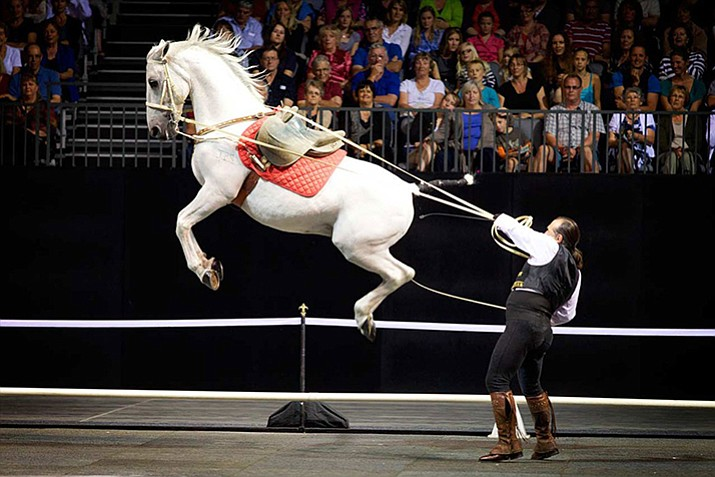 The Gala of the Royal Horses, Rene Gasser is a world-renowned riding master and has brought the show to numerous locations, including Australia. With the experience of seven generations, he's recreated an event only previously seen at famous riding schools in Vienna and Spain. It will celebrate the tradition, athleticism and grace of the Royal Horses of Europe. 7:30 p.m., Prescott Valley Event Center, 3201 N. Main St.
