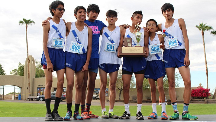 Hopi ends 27 year reign as cross country state champs