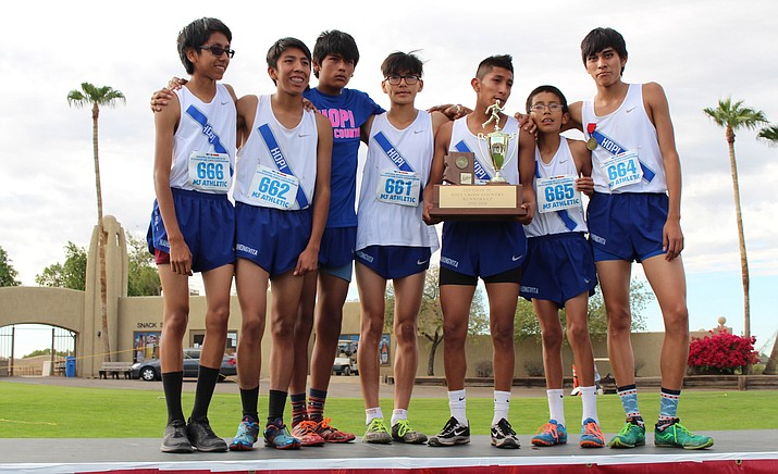 Hopi High boys cross country team placed second at state Nov. 3 in Phoenix, ending a 27 year winning streak.