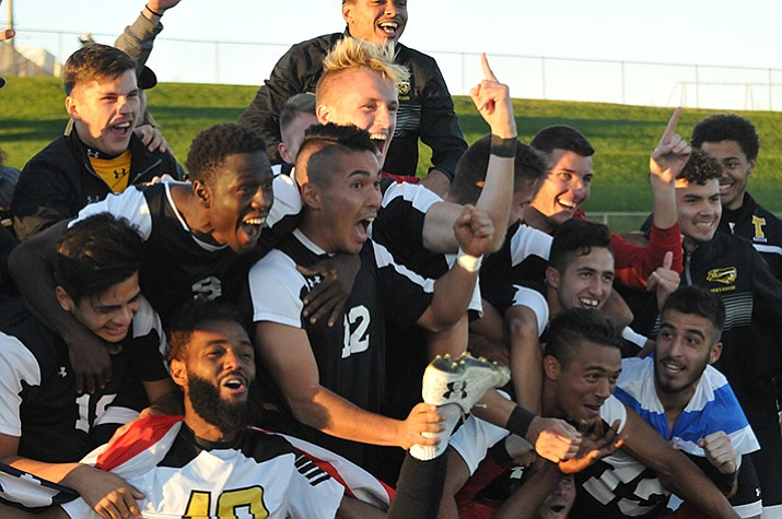 Nationals Tyler Repeats As Soccer Champions The Daily Courier