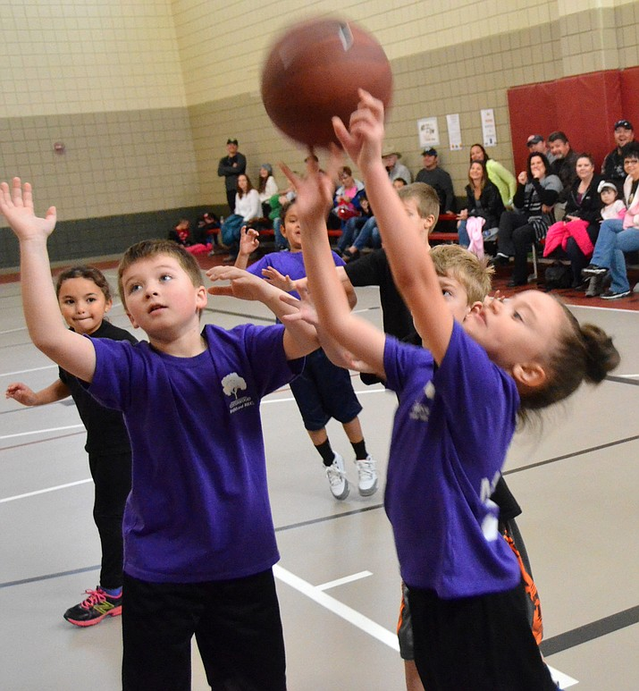 Grasshopper youth basketball games are Saturday mornings in Camp Verde. (VVN/Vyto Starinskas)