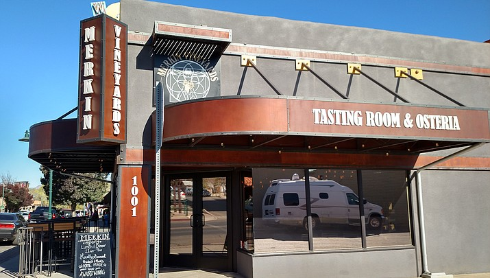 Merkin Vineyards Tasting Room & Osteria requests shade structure for patio