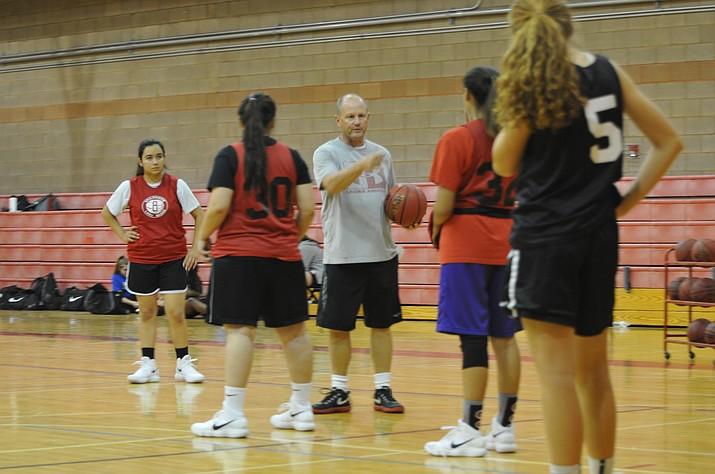 Bradshaw Bears girls varsity basketball team prepares for the 2017-18 season. (Courtesy)