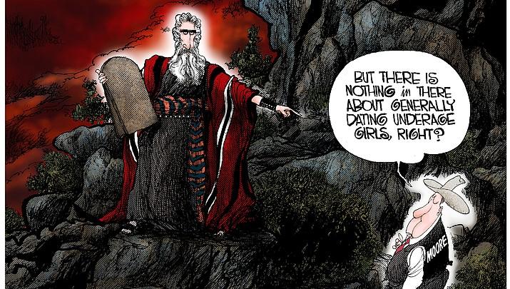 Editorial Cartoon (2): 11-20-17