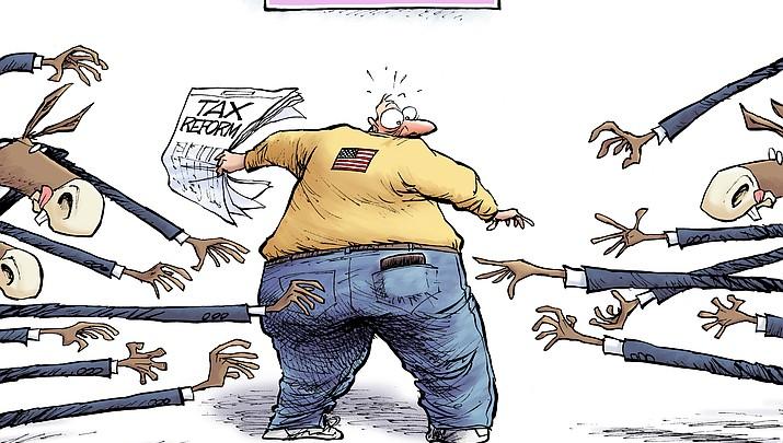 Editorial Cartoon | November 20, 2017