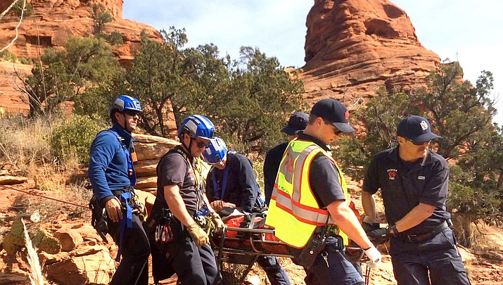 Injured hiker rescued from Boynton Trail