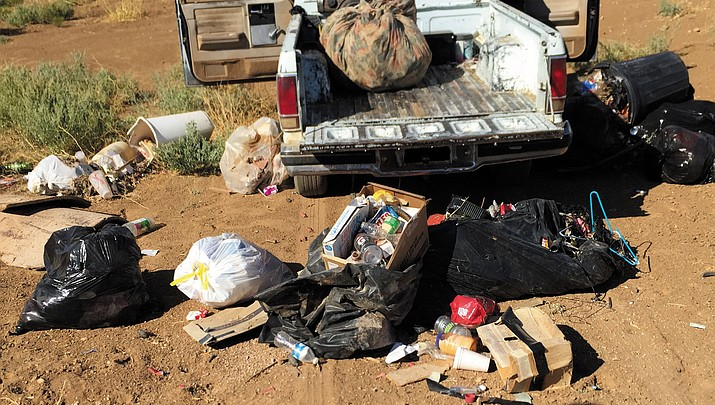Mohave County Supervisors approve $500 reward for turning in illegal dumpers