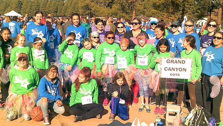 Photo highlights: Grand Canyon Girls on the Run race for success