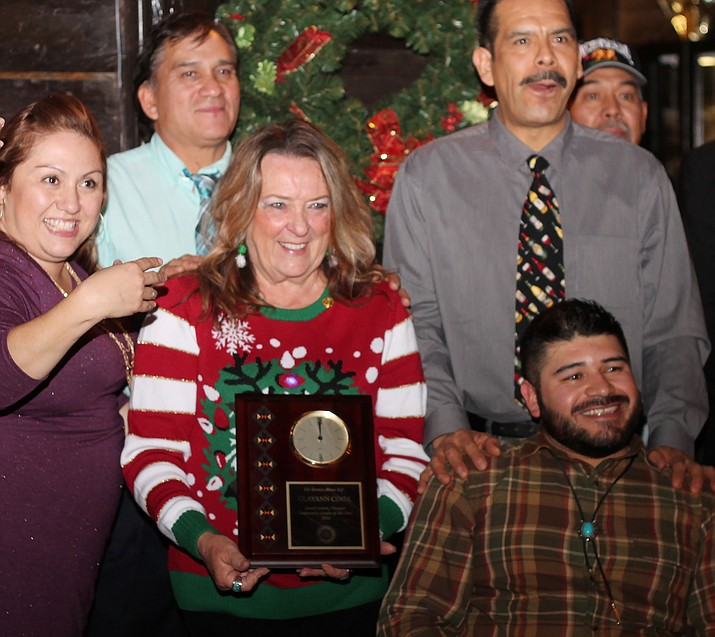 The 2017 Community Leader of the Year will be announced Dec. 9. Last year's winner was ClayAnn Cook.