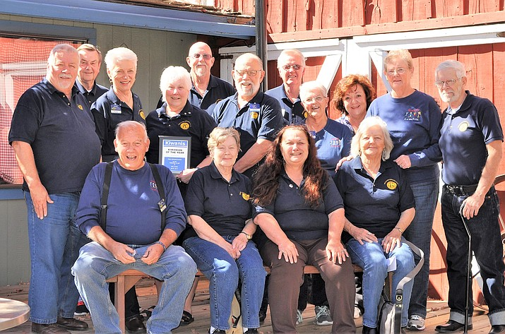 The 2017 Williams Kiwanis Club includes Mary Case, Tanya Christie, Rodger Ely, Carol Glassburn, George Glen, Katie Glen, Pam Hendrickson, Herb Johnson, Rick Kleck, Chris Leach, Gladys Lechner, Judie Maeda, Kerry-Lynn Moede, Bill Miller, Bill Moss, Cookie Nocoson, Ericia Ocampo, Barb Parenteau, Bud Parenteau, Teresa Rodriguez, Harry Strauss, Emma Wheeler and Tom Wheeler.