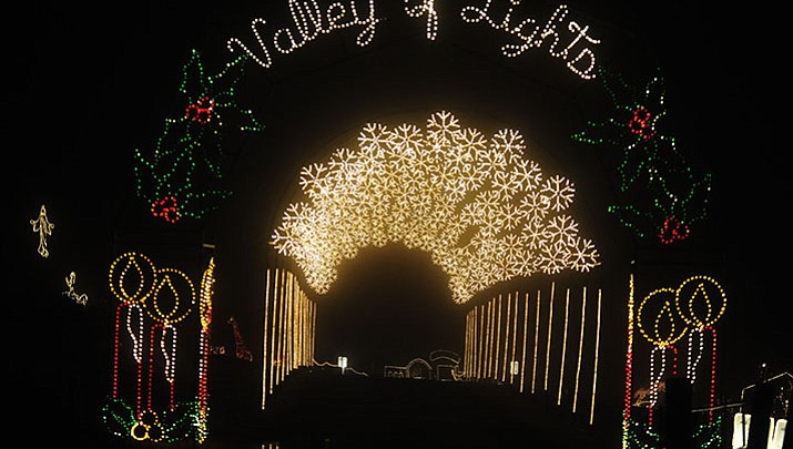 Visitors can now walk the Valley of Lights