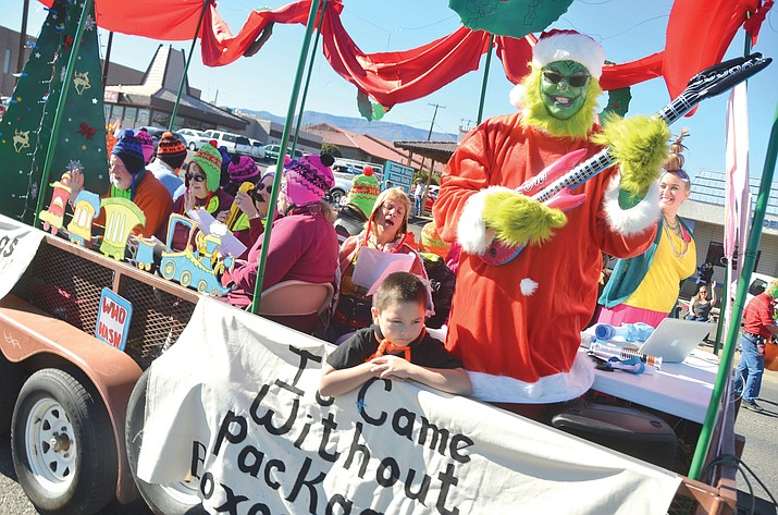 For the 63rd year, festive floats, enthusiastic marchers, and trotting horses will make their way through Cottonwood. (VVN/File Photo)