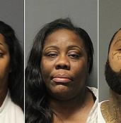 Police arrest three suspects in $3,000 Walmart fraud photo
