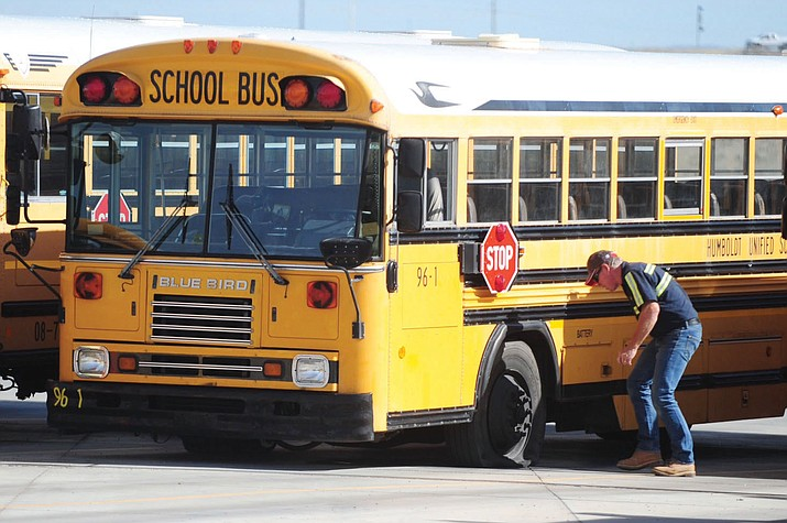 Governor Doug Ducey is considering using the $59M from a VW settlement to upgrade the school buses throughout Arizona.