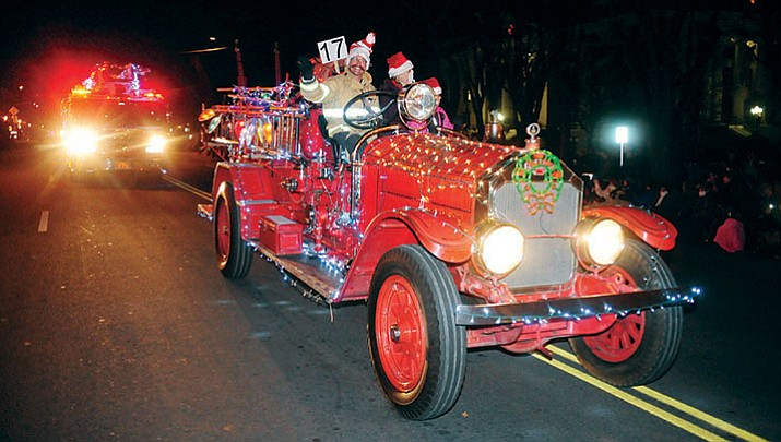Prescott's Holiday Light Parade will march and move through downtown Prescott Saturday, Nov. 25. (Les Stukenberg/Courier, file)