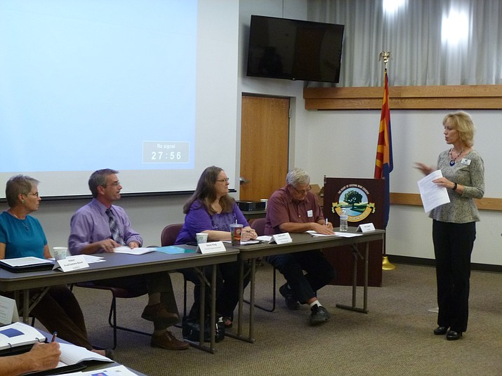 Class members of Verde Valley Leadership Class XII spent Friday, Oct. 20, engaging in insightful presentations and concluded the day with a thought-provoking panel discussion on regional sustainability. (Courtesy Photo)
